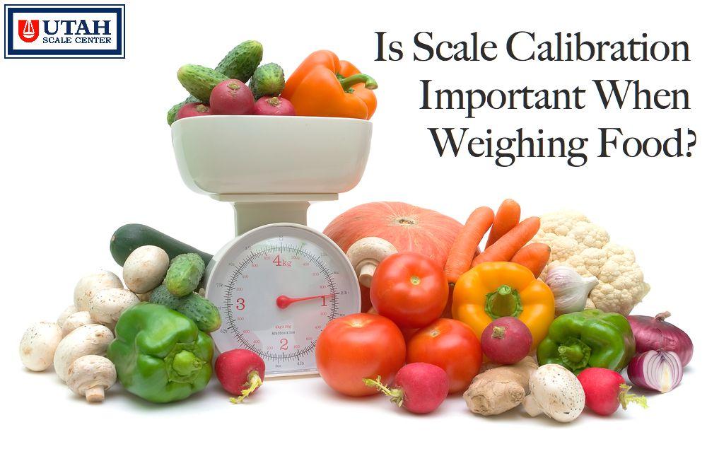 food scale calibration